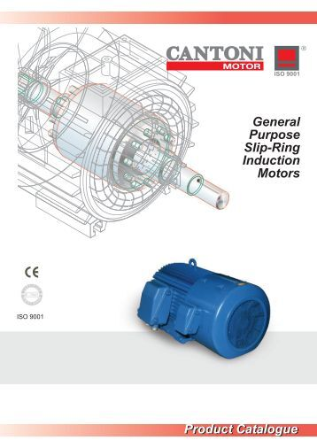 Product Catalogue General Purpose 3 Phase Cantoni Group