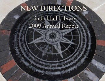 Annual Report 2009 - Linda Hall Library