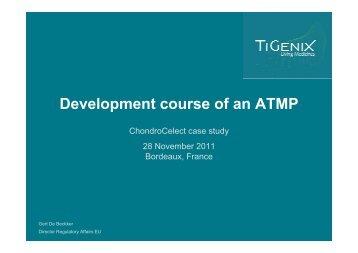 Development course of an ATMP - GIPSO