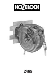 33240 MINI AUTO REEL INST-A5 - Hozelock