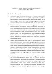 LAPORAN ANJAK 07 REKAP - Pusat Sosial Ekonomi dan ...