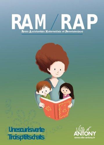 Cliquez ici pour consulter la brochure des RAM - RAP - Antony