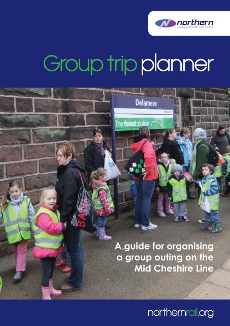 Group trip planner - The Mid Cheshire Community Rail Partnership