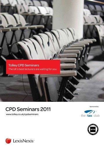 CPD Seminars 2011