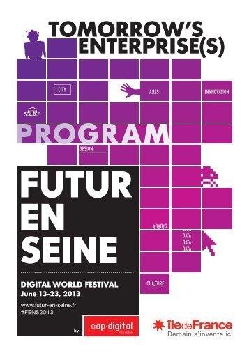 TOMORROW'S ENTERPRISE(S) - Futur en Seine