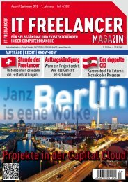 IT Freelancer Magazin Nr. 4/2012