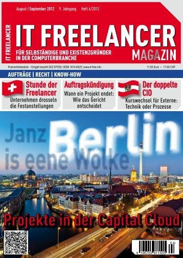 IT Freelancer Magazin Nr. 4/2012