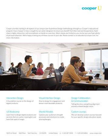 Interaction Design Visual Interface Design Design ... - Cooper