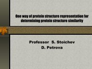 One way of protein structure representation for determining protein ...