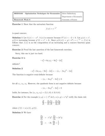 solutions to homework assignments chapter 4 Homework for ieor 6711 homework policy for selected problems at the end of each chapter, solutions are provided homework assignments tuesday, september 4.