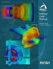 ASC Code Strategy - National Nuclear Security Administration