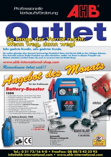 Battery-Booster - Ahb