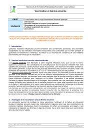Vaccination et femme enceinte - MedQual