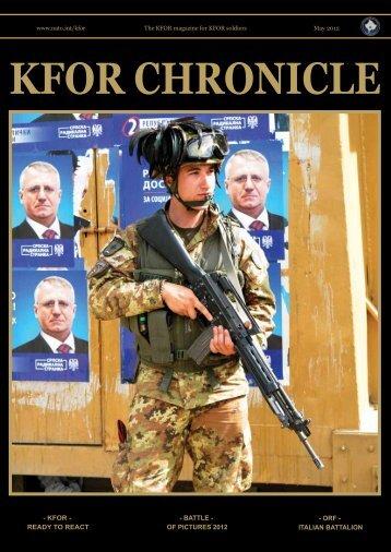 KFOR CHRONICLE - ACO - NATO