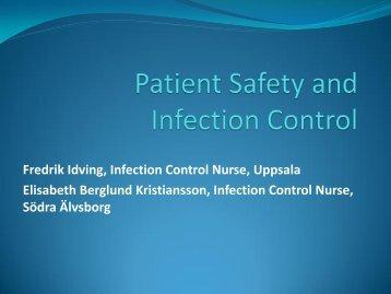 20140910_04_Nordisk hygienkonferens 2014 Patientsaekerhet och infektionshygien Elisabeth och Fredrik