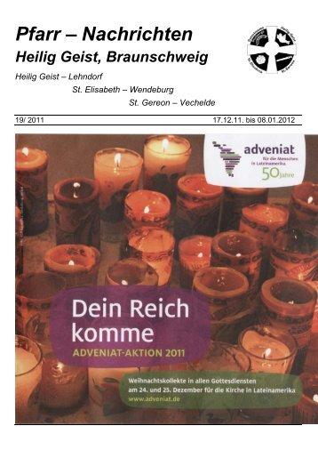 Pfarrnachrichten-19-2011 für die Zeit vom 17.12.11 - Heilig Geist ...