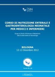 programma preliminare corso SIN_Bologna 12-13 ... - Biomedia online