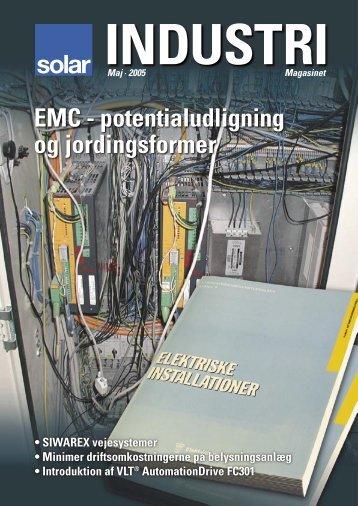 EMC - potentialudligning og jordingsformer - Solar Danmark A/S