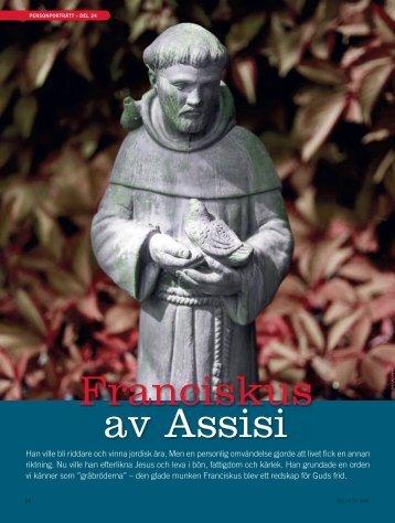 Franciskus av Assisi - Till Liv