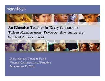 teachers - New York City Charter School Center