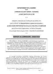 Rapport - conclusion EP réalisation phase 2 boulevard périphérique ...