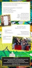 Flyer Streetwork - Stadt Castrop-Rauxel