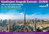 Ujedinjeni Arapski Emirati • DUBAI - Wayout