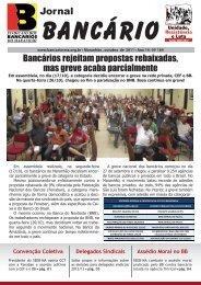 jornal bancarios outubro 2011.indd - Sindicato dos Bancários do ...