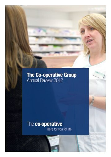 The Co-operative Group Annual Review 2012