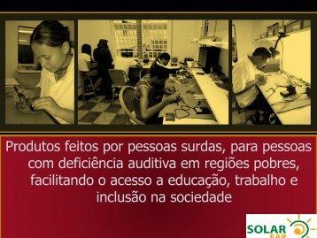 Palestra Andrea Resende - Solar Ear