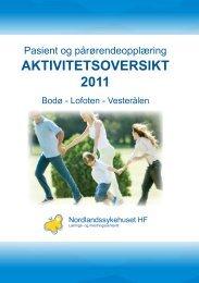 Vedlegg til sak 41/2011 - Nordlandssykehuset