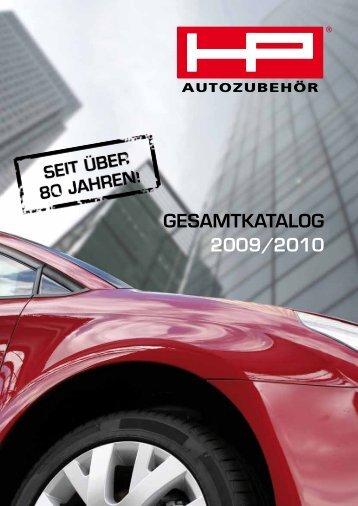 GesamtkataloG 2009/2010 - HP-Autozubehoer