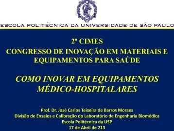 Prof. José Carlos Teixeira de Moraes - 2º Cimes