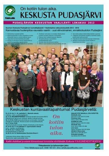 KESKUSTA PUDASJÄRVI - Pudasjärvi-lehti ja VKK-Media Oy