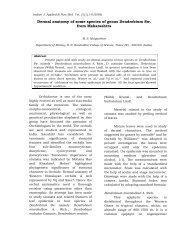 Dermal anatomy of some species of genus Dendrobium Sw. from ...
