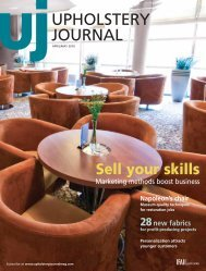 Upholstery Journal, April May 2010, Digital Edition - Specialty ...