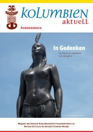 Sonderheft Juni 2011 - Deutsch-Kolumbianischer Freundeskreis eV