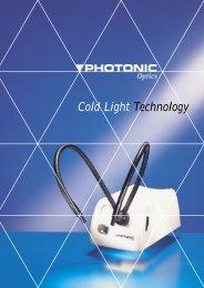 Cold Light Technology - GX Optical