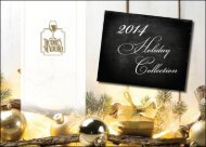 Licores Maduro   2014 Holiday Collection