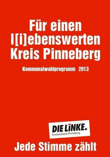 downloaden - DIE LINKE. Kreisverband Pinneberg