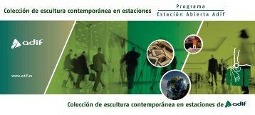 Catalogo de esculturas - Adif