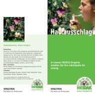 Hautausschlag - Heidak AG