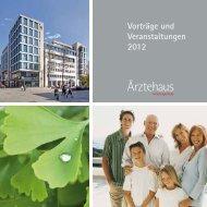 Vorträge und Veranstaltungen 2012 - Hirsch-Apotheke