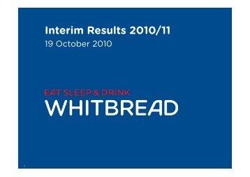 Interim Results 2010/11 - Hemscott IR