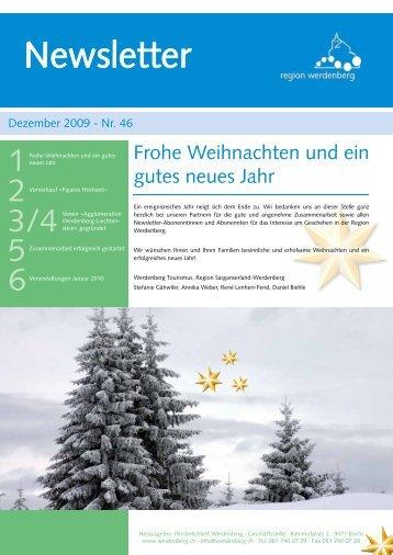 Dezember 2009 - Region Werdenberg