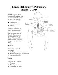 Chronic Obstructive Pulmonary Disease (COPD) - Lookfordiagnosis