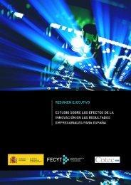 Resumen Ejecutivo - ICONO - Fundación Española para la Ciencia ...