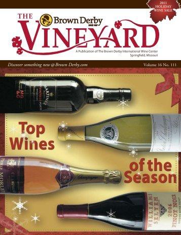 2011 Holiday - Brown Derby International Wine Center