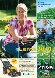 Lente 2010 - Uw groene vakwinkel
