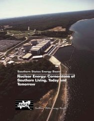 Nuclear Energy: Cornerstone of Southern Living Today and Tomorrow